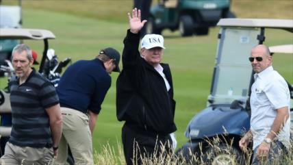 Informe: Viaje de Trump cuesta millones de dólares a británicos