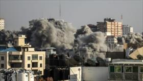 Aviones israelíes bombardean Gaza horas después del alto el fuego
