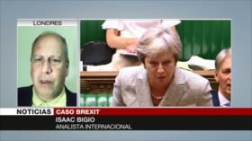 Bigio: May necesita el apoyo de dos cámaras en diálogos de Brexit