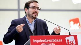 IU: PSOE debe investigar a exrey y no proteger a monarca 'corrupto'