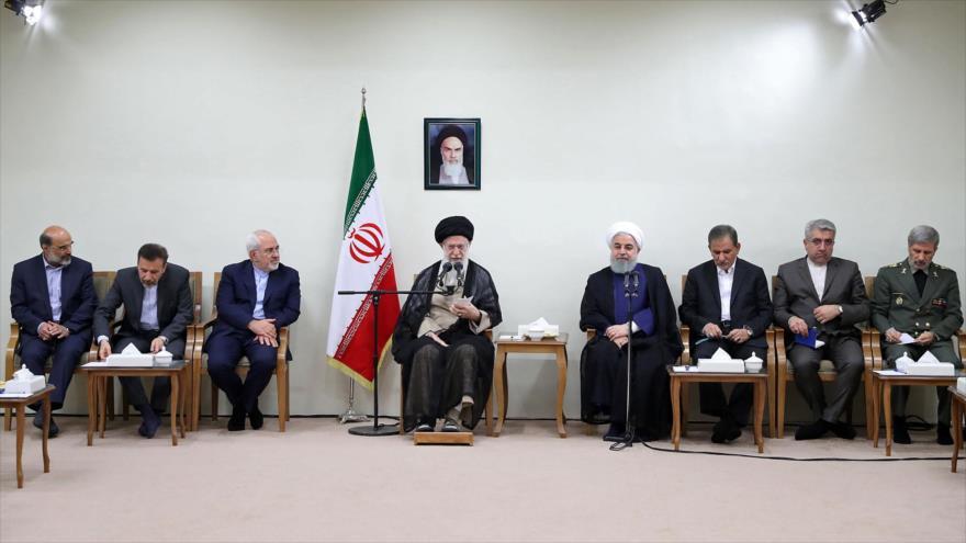 Líder iraní exige garantías a Europa en el marco del pacto nuclear
