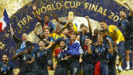 Francia derrota 4-2 a Croacia y se corona como campeón del Mundial