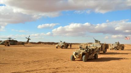 'EEUU no planea entregar a Rusia su base de Al-Tanf en Siria'