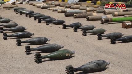 Siria halla gran cantidad de armas estadounidenses en Deir Ezzor