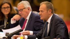 UE advierte: Guerras comerciales a veces acaban en guerras reales