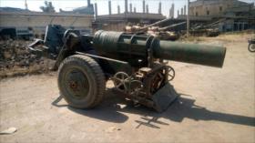 Terroristas entregan tanques y armas pesadas a Ejército en Daraa