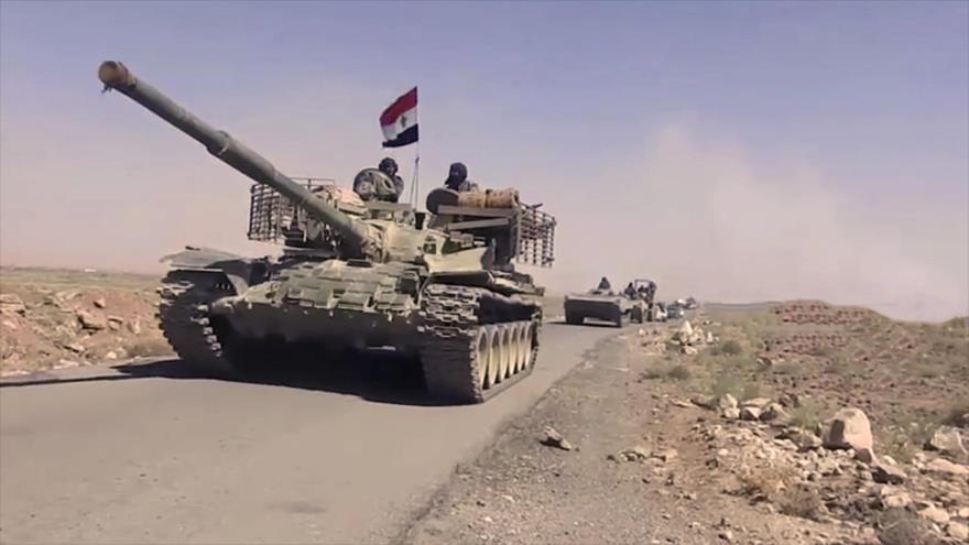 Ejército sirio recupera una colina estratégica cerca de Golán