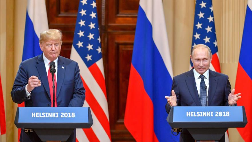 Relación con Rusia 'nunca ha estado peor — Trump