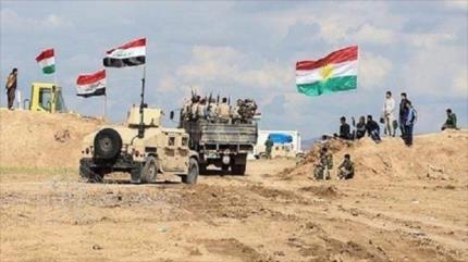 Ejército iraquí y fuerzas kurdas atacan a Daesh en norte del país