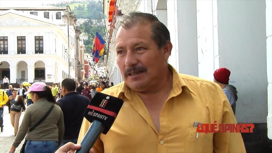 ¿Qué opinas?: El primer año de Gobierno de Lenín Moreno en Ecuador