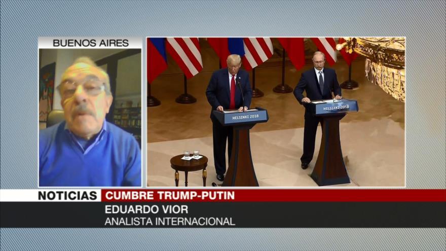 Eduardo Vior: Reunión de Rusia y EEUU ayuda a paz mundial