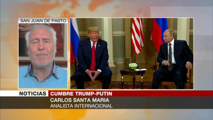 Santa María: Trump y Putin dan por concluida la 'Guerra Fría'