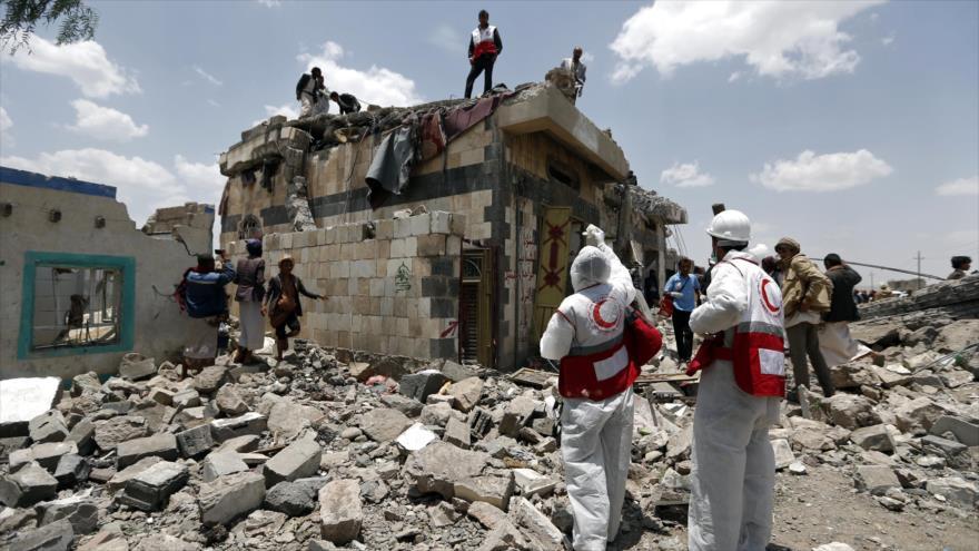 Vídeo: Nuevos bombardeos saudíes dejan siete muertos en Yemen