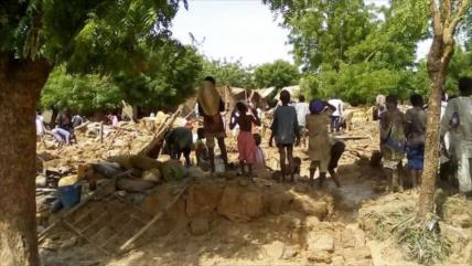 45 muertos y 1000 casas destruidas por intensas lluvias en Nigeria