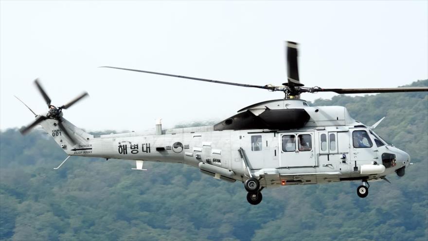 Mueren cinco marines surcoreanos al caer su helicóptero