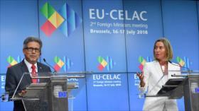 Unión Europea y Celac piden el fin del bloqueo de EEUU a Cuba