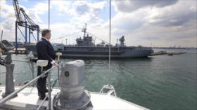 Ucrania y OTAN maniobras marítimas para desafiar a Rusia