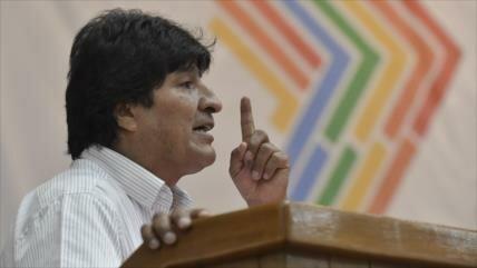 """Evo Morales tacha a Trump de """"enemigo de la humanidad"""""""