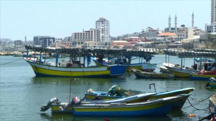 Israel vuelve a reducir la zona de pesca palestina en Gaza