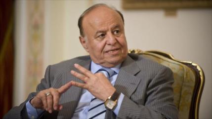 Mansur Hadi elogia masacre de civiles en Yemen a manos de Riad