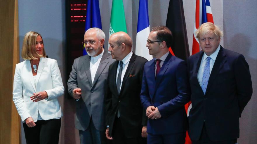 Irán pide a Europa más acciones para salvar pacto nuclear