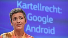 La Comisión Europea impone a Google la mayor multa de su historia