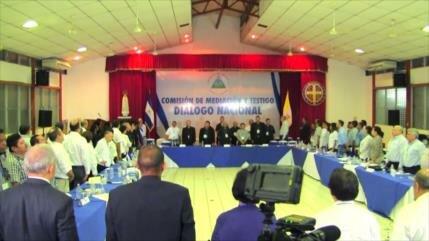 Diálogos se retomarán para hallar salida a la crisis en Nicaragua
