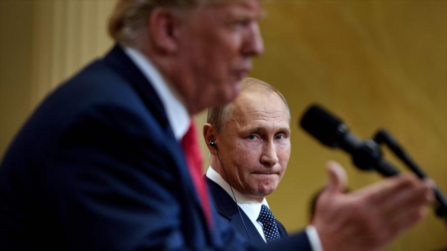 Trump responsabiliza a Putin por intromisión en elecciones de EEUU
