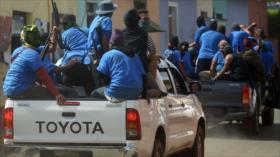 Sandinistas en España denuncian golpe de EEUU contra Daniel Ortega