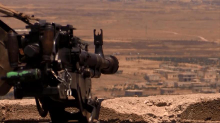 Ejército sirio confisca armas israelíes en el sur del país