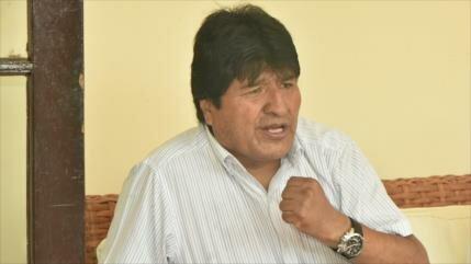 Morales denuncia 'estrategias criminales' del imperio en Nicaragua