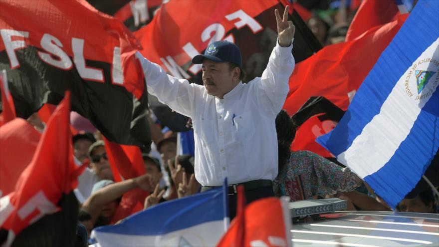 Ortega denuncia guerra mediática y armada de EEUU en Nicaragua