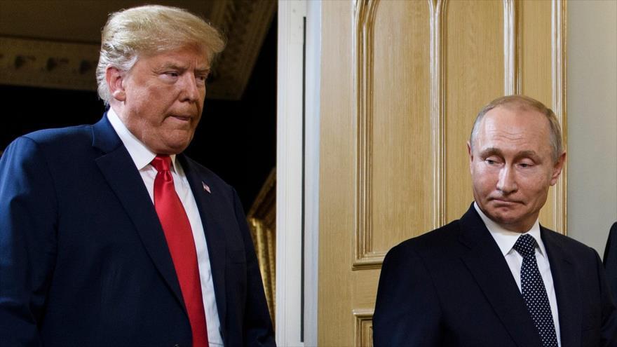 Trump: Seré 'el peor enemigo' de Putin si relaciones no funcionan