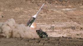 Fuerzas yemeníes lanzan misil balístico contra base aérea saudí