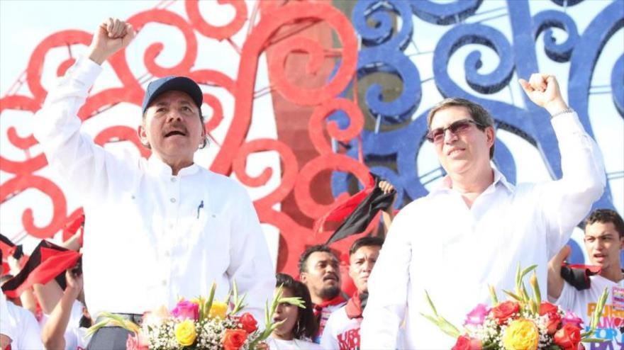 Cuba acusa a EEUU de aplicar doctrina Monroe contra Nicaragua