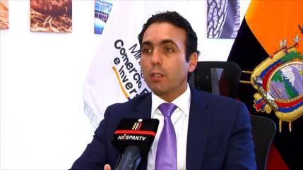 Ecuador anuncia estrategias para fomentar inversiones