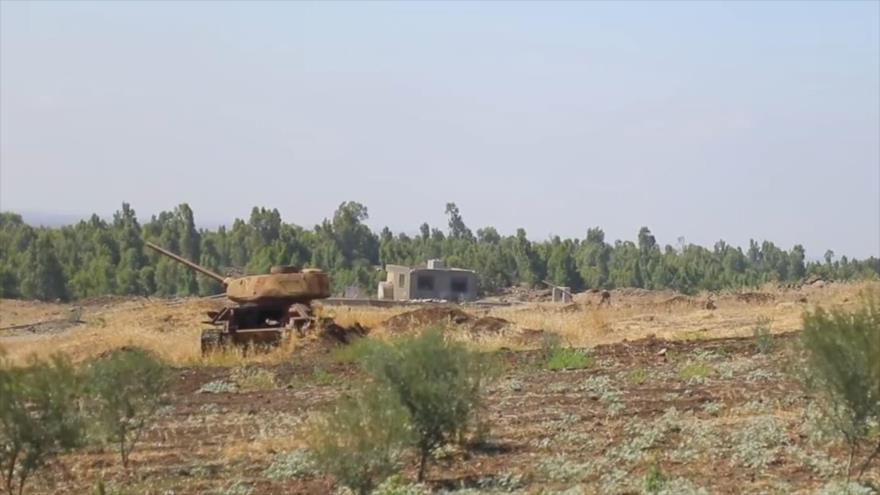 Vídeo: Fuerzas especiales de Siria se ubican cerca de altos del Golán
