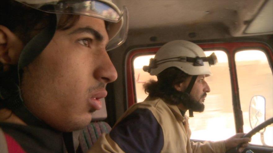 EEUU planea evacuar a 'Cascos Blancos' por avances del Ejército sirio