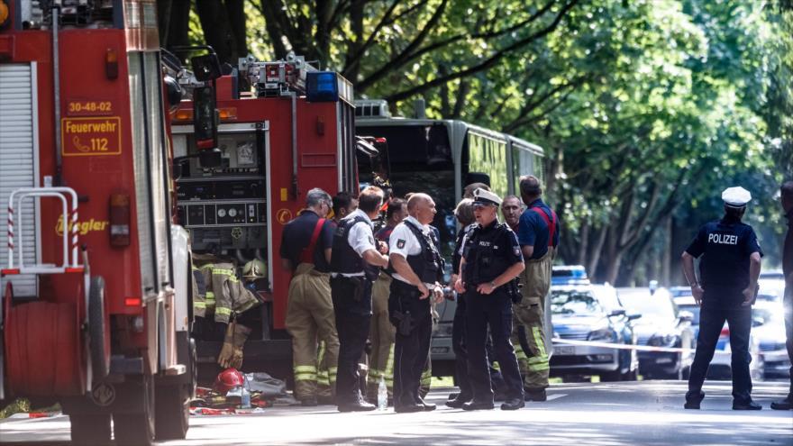 Un ataque con arma blanca deja al menos 14 heridos en Alemania   HISPANTV