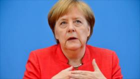 Merkel: Europa ya no puede confiar en superpotencia de EEUU