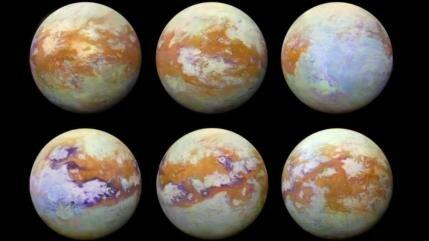 La NASA revela imágenes únicas de Titán, la mayor luna de Saturno