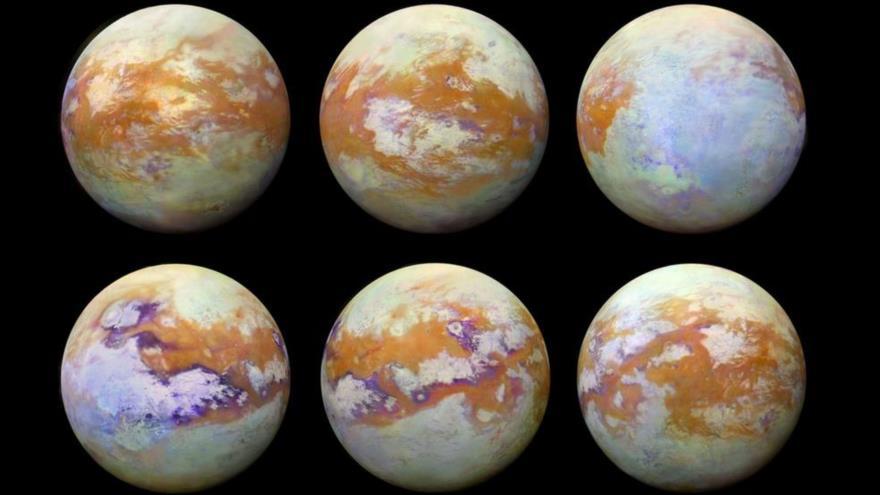 Resultado de imagen para Primer Aterrizaje en la Luna Titán