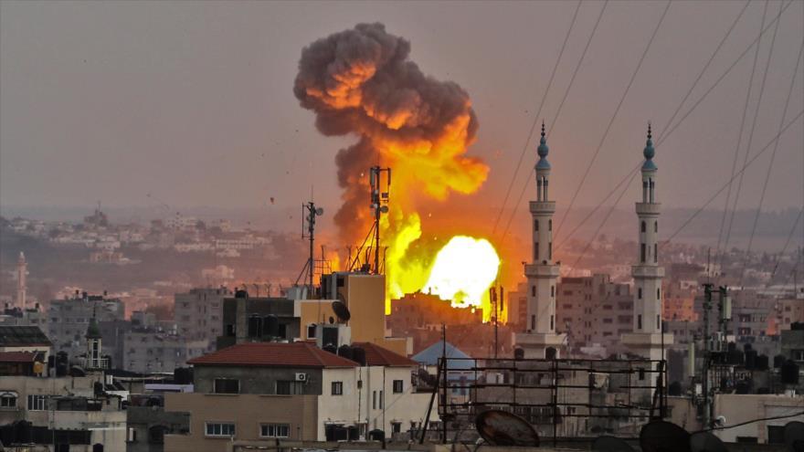 4 muertos y 120 heridos dejan bombardeos de Israel sobre Gaza
