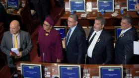 FARC asume escaños en Congreso colombiano afín a Ivan Duque