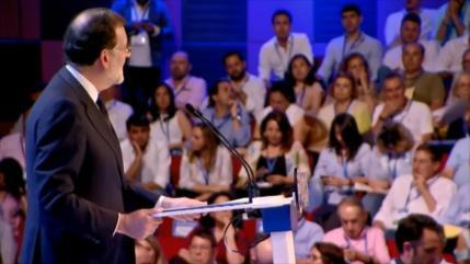 Mariano Rajoy da su último discurso como líder del PP