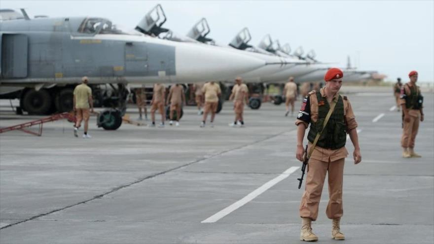 Rusia repele otro ataque terrorista a su base aérea en Siria