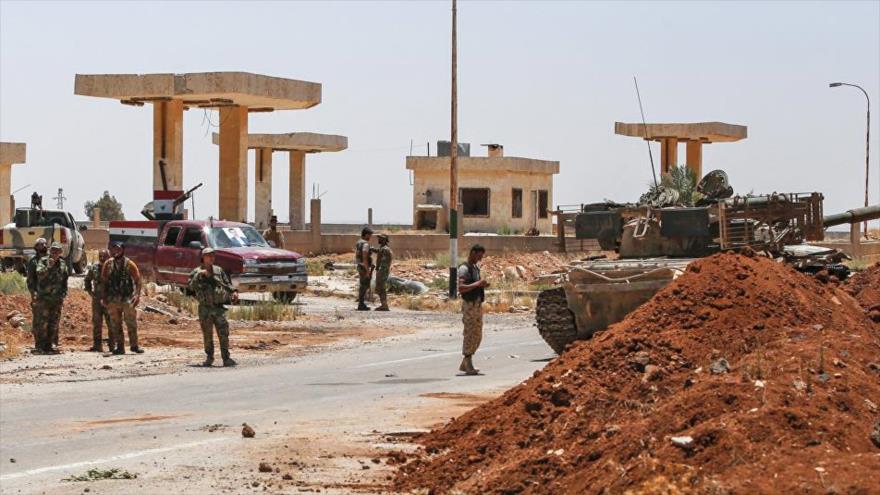 Ejército sirio libera otras 21 localidades en Daraa y Al-Quneitra