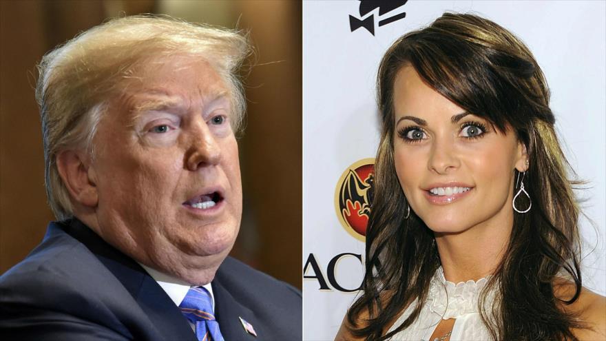 Grabaron a Donald Trump discutiendo el pago a una ex Playboy