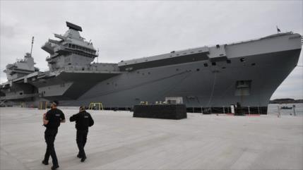 Londres enviará su mayor portaviones al Pacífico, cerca de China