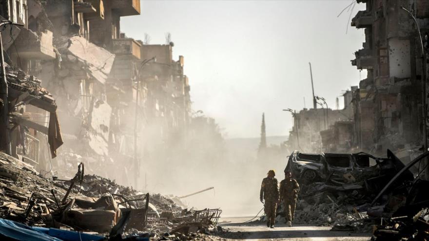 Habitantes de Al-Raqa piden regreso del Gobierno sirio para ayudarlos